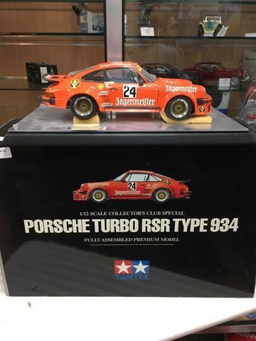 TAMIYA, Porsche Turbo RSR type 934, 1/12e  VENDU AU FRAIS JUDICIAIRES
