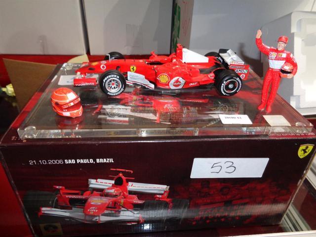 Plateau grand prix du Brésil, Hotwheels Ferrari Pharaweel Mickael.