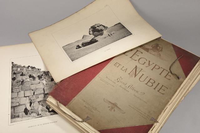 Grand album de l'Egypte et la Nubie Monumental, Historique, Architectural,