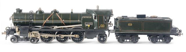 "Märklin écart. I, rare locomotive Pacific ""PLM 4021"" à vapeur"