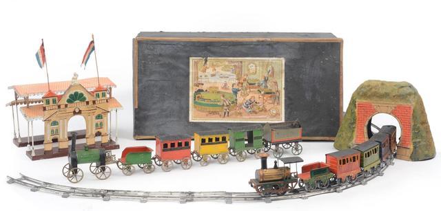 Ensemble de chemin de fer F.V.