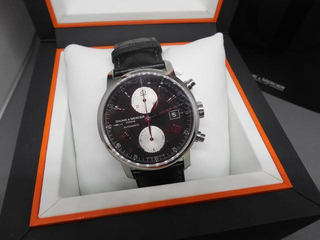 BAUME & MERCIER, Automatic. No. 4812693 65591.  Chronographe bracelet