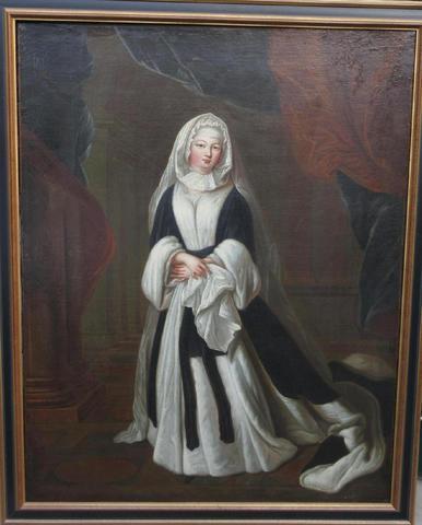 """Ecole française XVIIIème """"portait de la duchesse de Berry"""" 90 x"""