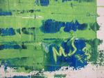 Maddy JOURDAIN (1924/1990) Grand large, huile sur toile, monogrammé