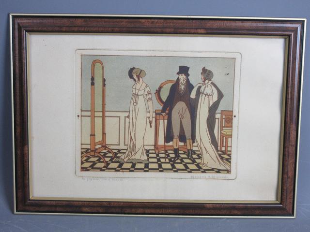 Bernard BOUTET DE MONVEL (1881-1949). La Psychée. Gravure. Signée