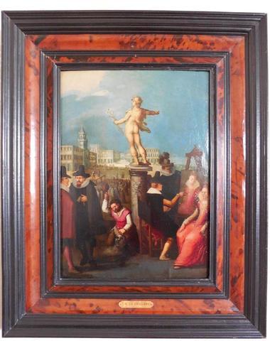 Attribué à Louis de CAULLERY (1580/1621). Allégorie des Arts.,
