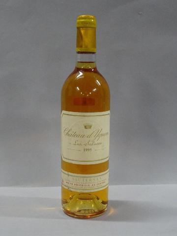 SAUTERNES, Château d'Yquem 1995 (1 bouteille)