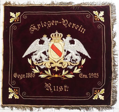Grand drapeau allemand empire et république de Weimar d'une association