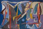 Bram VAN VELDE SANS TITRE, TARDAIS, 1959 Huile sur toile 130 ×