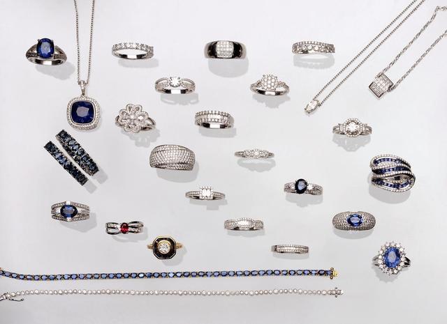 Saphirs et diamants (certificats)