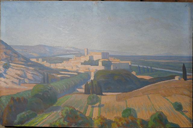 Fonds d'atelier du peintre Robert DEBORNE (1870-1944) - 138 tableaux