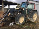 1 tracteur agricole ( x 4) VALTRA 6250, environ 7300 heures, de 2003 équipé