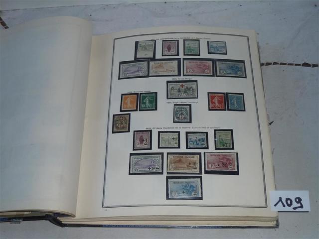 Nxx/x/Ob. - France - Collection de timbres entre les origines et l'année