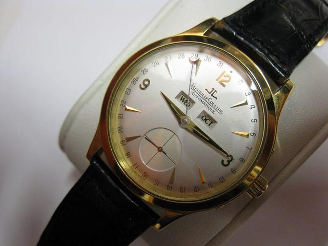 JAEGER-LECOULTRE   Master calendar N° OO01  Très jolie montre-bracelet
