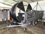 Enrouleur irrigateur OCMIS type 90 IR1 400 m, avec rampes 34 m (n°