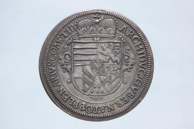 LEOPLOD V Archiduc d'Autriche. LANDGRAVIAT DE HAUTE ALSACE. Ecu ou