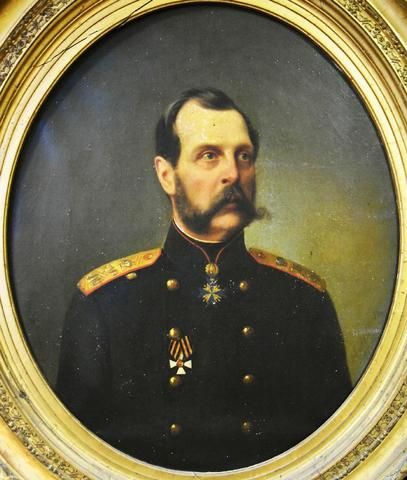 Nicolaï Andreevich LAVROV (1820-1875) - Portrait du tsar ALEXANDRE