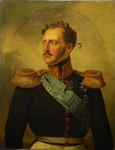 Attribué à Franz KRUGER (1797-1857) - Portrait du tsar NICOLAS I