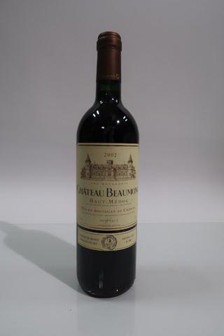 1* Bouteille de Château Beaumont, Haut Médoc, 2002-NGoulot CRD Récoltant,