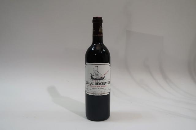 1* bouteille de château Beychevelle, Saint Julien, 2002