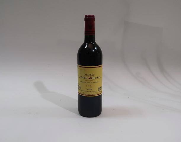 1* bouteille de château Lynch Moussas, Pauillac, 2001