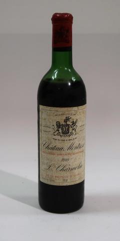1* Blle de Château Montrose 1969 Niveau Epaule - Etiquette entiere