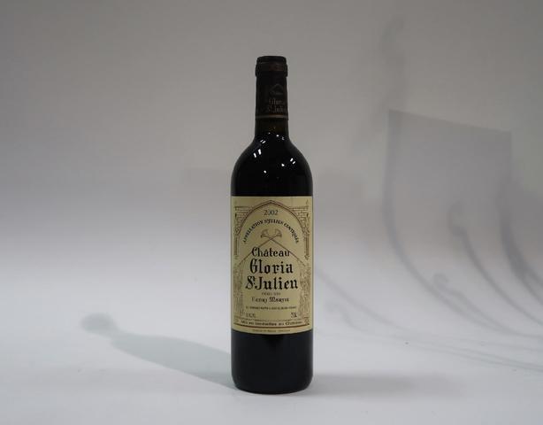 1* bouteille de château Gloria, Saint Julien, 2002