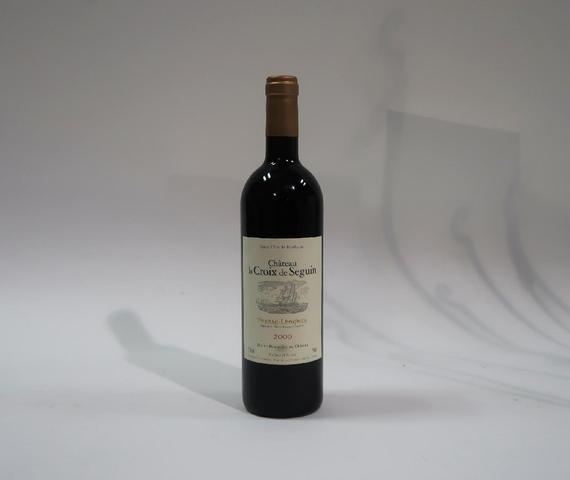 1* bouteille de château La Croix de Seguin, Pessac Leognan, 2000