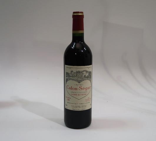 1* bouteille de château Calon-Ségur, Saint-Estèphe, 1998