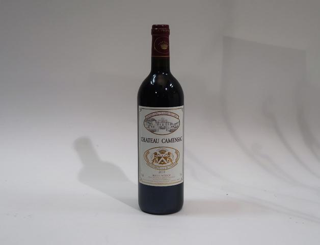 1* bouteille de château Camensac, Haut Medoc, 2001