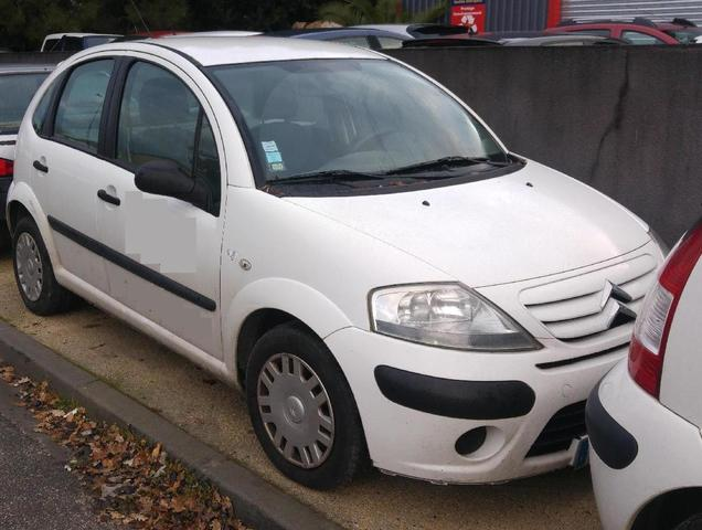 Citroën C3 - Date de première mise en circulation : 13.11.2008 -