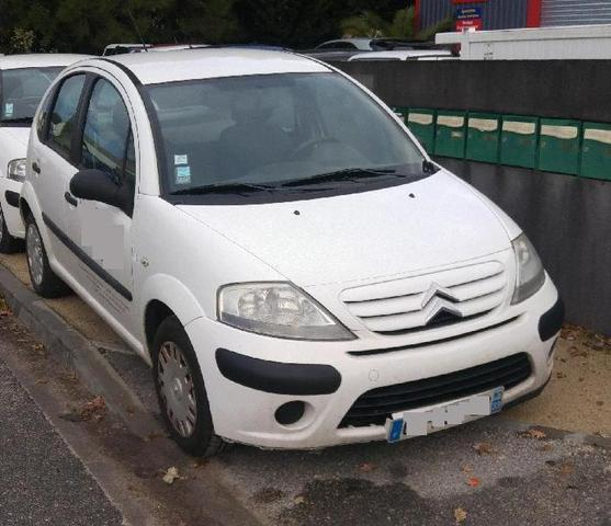 Citroën C3 - Date de première mise en circulation : 09.01.2009 -