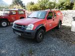CTTE ISUZU D-MAX Pick-up double cabine, première mise en circulation: