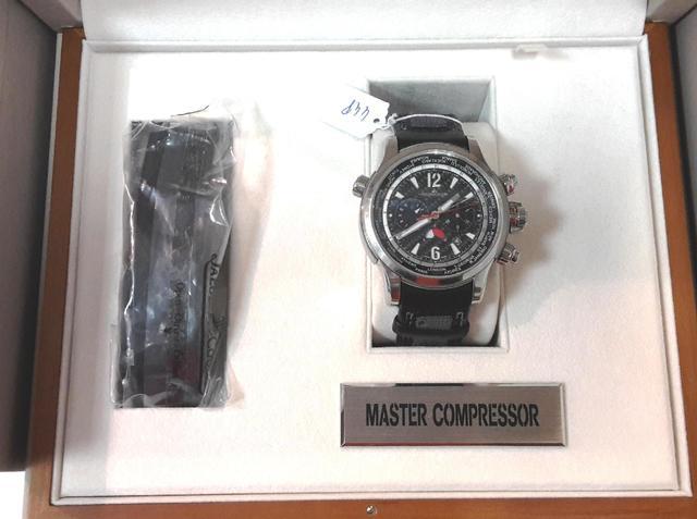 "JAEGER LECOULTRE modèle ""Master Compressor Extreme World Chronographe""Diamètre"