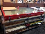 1 presse chauffante + pompe à vide HOT PRESS HGT 3601286 sur table