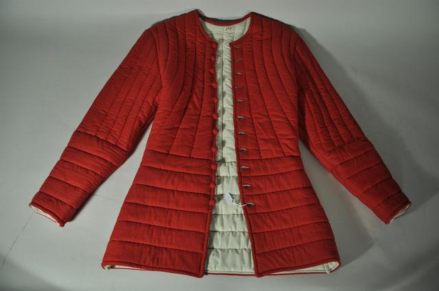 Pourpoint rouge de style médiéval - Taille XXS ? - Vendu en l'état