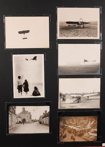 AÉROPLANES Louis BLÉRIOT 7 photographies d'époque : - 1/ Le premier