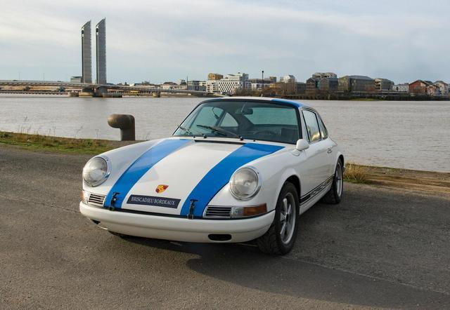 PORSCHE  Coupé sportif type 911S 2 litres du 19/04/1967, n° de