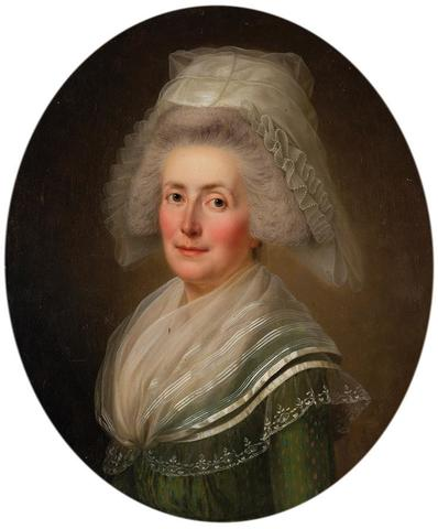 Adolf Ulrik WERTMULLER (Stockholm 1751 - Wilmington -Delaware - 1811)Portrait