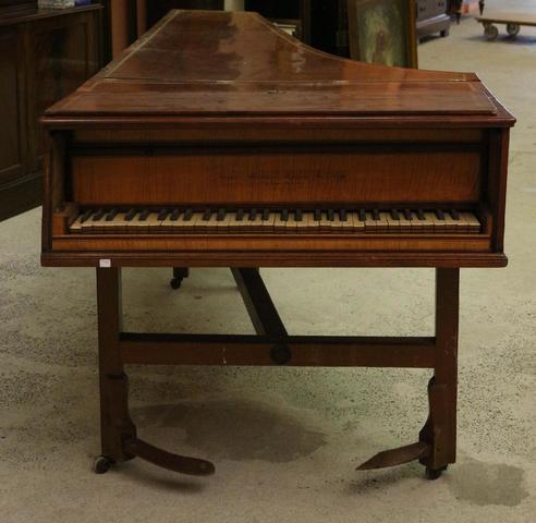 Un PIANO Joseph KIRCKMAN, 1783, en placage d'acajou et de bois de