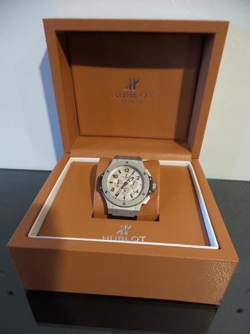 HUBLOT (Genève) MONTRE chronographe modèle BIG BAG édition limitée