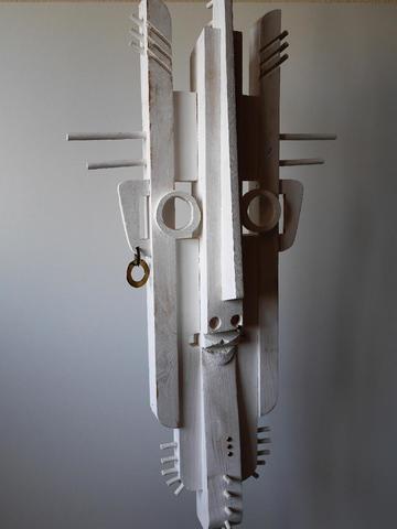 LELAIZANT Robert (1929-2016) Visage d'inspiration cubiste H (totale)