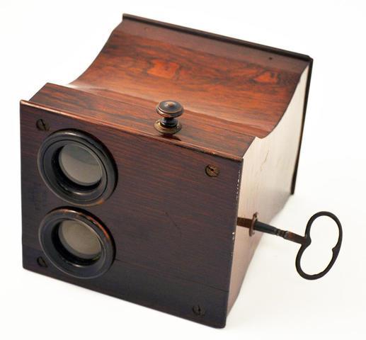 """Rare : Jules Duboscq """"Grimatiscope"""" vers 1860"""