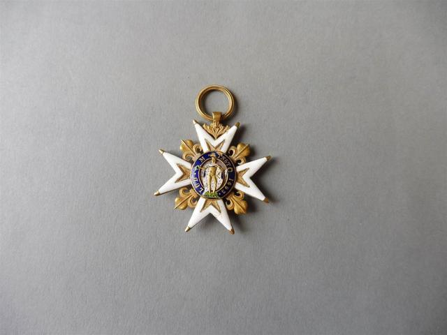 ORDRE DE SAINT LOUIS, créé en 1693. Croix de chevalier d'époque