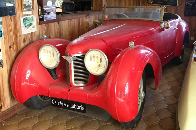 Marque : STANDARD SWALLOW   Type : SS ONE Roadster    Année fabrication