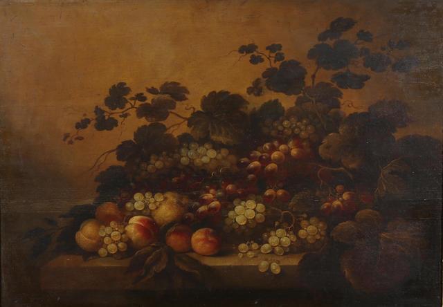 Roelof KOETS  (Haarlem 1592-1593 - 1655) Nature morte de raisins