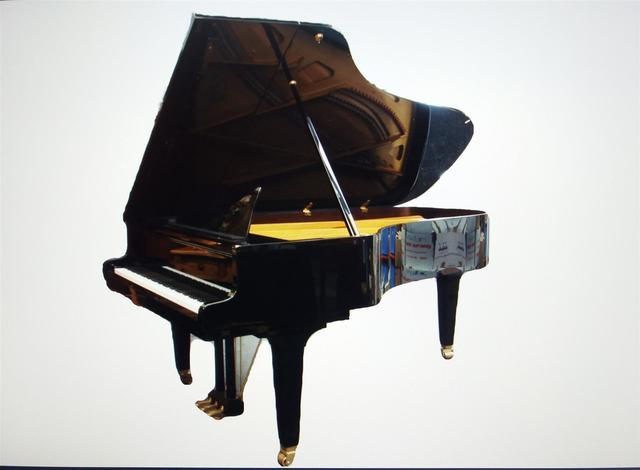 GROTRIAN-STEINWEG, Piano à queue Concert, 225 x 153 x 100 cm, deux
