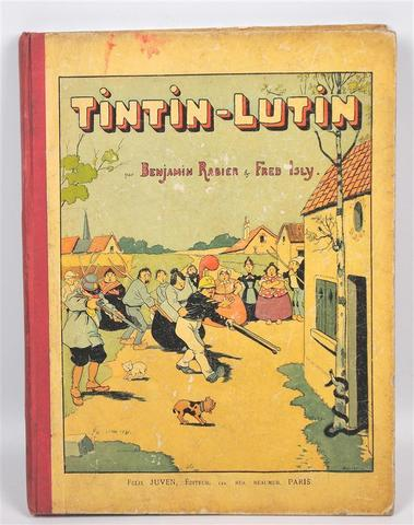 RABIER BENJAMIN. Tintin-Lutin. Editions Félix Juven 1898. Grand in