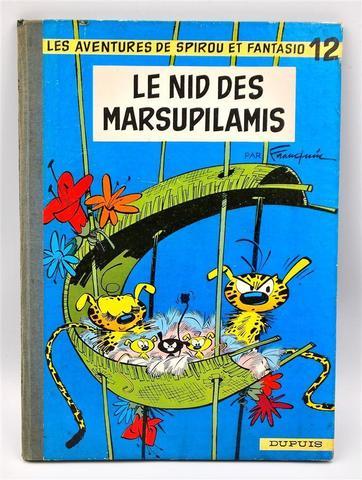 Franquin - Spirou & Fantasio T12 : Le Nid des Marsupilamis + La foire