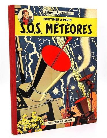 Jacobs Edgard .P - Blake et Mortimer SOS Métèores  (Collection du